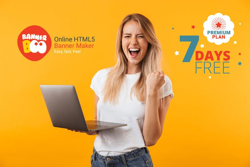 Banner Maker: How to get 7 Days Premium Plan for Free