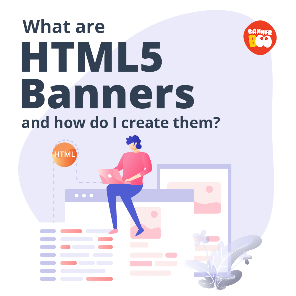 What are HTML5 banners and how do I create them?