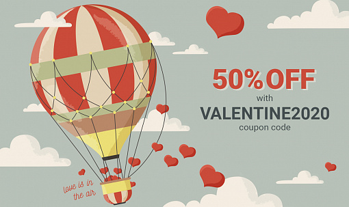 Get what you want from Bannerboo + 50% Valentine discount!